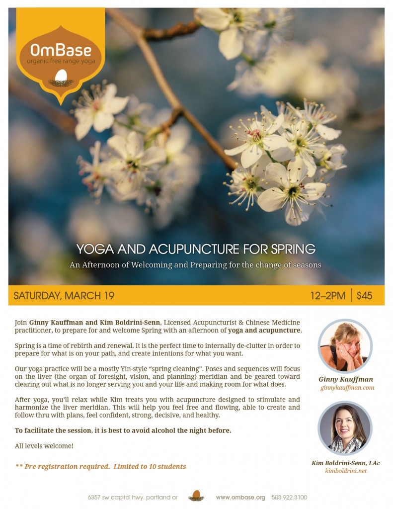Yoga & Acu Workshop